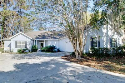 St. Simons Island Single Family Home For Sale: 212 West Davis Cup Ct.