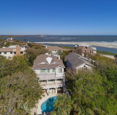 St. Simons Island Single Family Home For Sale: 4226 Thirteenth Street