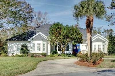 St Simons Island Club Single Family Home For Sale: 260 Saint Andrews