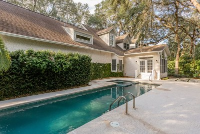 St. Simons Island Single Family Home For Sale: 805 East Field Lane