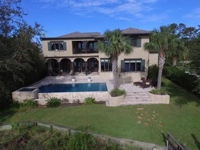 St. Simons Island Single Family Home For Sale: 6 Dunbar Creek Pt