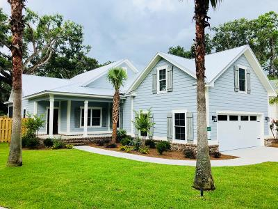 St. Simons Island Single Family Home For Sale: 13 Township Bluff Drive