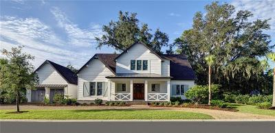 St. Simons Island Single Family Home For Sale: 46 Wildlife Preserve