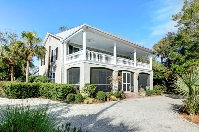 St. Simons Island Single Family Home For Sale: 811 Ocean Blvd