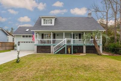 St. Simons Island Single Family Home For Sale: 510 Delegal