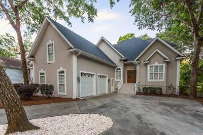 St. Simons Island Single Family Home For Sale: 34 West Lake Drive