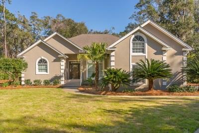 St. Simons Island Single Family Home For Sale: 1000 Sea Palms West Drive