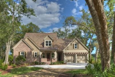Frederica Golf Club Single Family Home For Sale: 19 Bracklin Court
