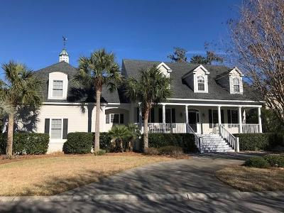 St. Simons Island Single Family Home For Sale: 102 Enclave Lane