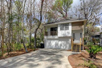 St. Simons Island Single Family Home For Sale: 510 Holly Street