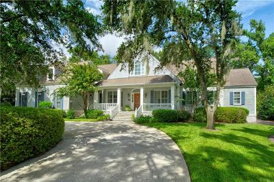 St Simons Island Club Single Family Home For Sale: 102 Cypress Point