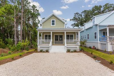 St. Simons Island Single Family Home For Sale: 612 Holly Street