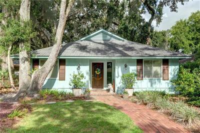 St. Simons Island Single Family Home For Sale: 107 Peachtree St.