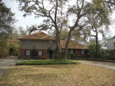 St. Simons Island Single Family Home For Sale: 116 Cater Street