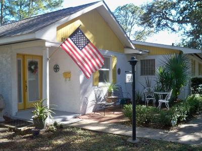 Jekyll Island Single Family Home For Sale: 933 N Beachview Dr