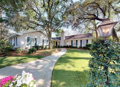 St. Simons Island Single Family Home For Sale: 122 Saint Andrews