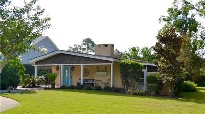 St. Simons Island Single Family Home For Sale: 530 Delegal