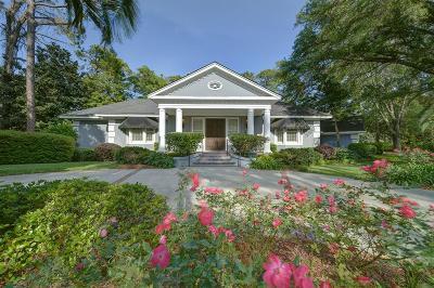 St Simons Island Club Single Family Home For Sale: 151 Saint Andrews
