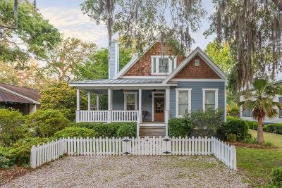 St. Simons Island Single Family Home For Sale: 235 Broadway Street