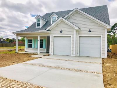 St. Simons Island Single Family Home For Sale: 34 Tabby Place Lane (Lot 53)