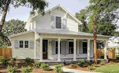 St. Simons Island Single Family Home For Sale: 108 Tabby Place Dr. (Lot 20)