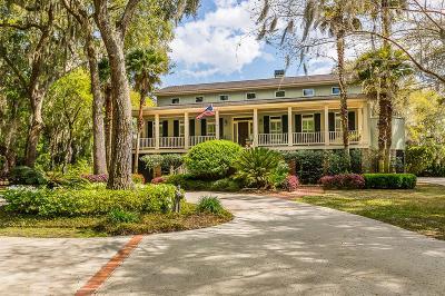 St. Simons Island Single Family Home For Sale: 110 Jones Creek Drive
