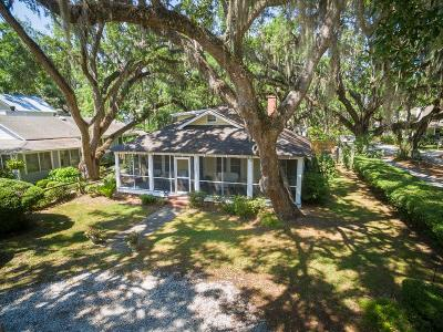 St. Simons Island Single Family Home For Sale: 559 Magnolia Ave