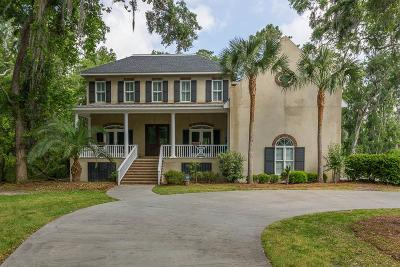 St. Simons Island Single Family Home Active Contingent: 113 Jones Creek Drive