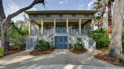 St. Simons Island Single Family Home For Sale: 206 Lorah Lane