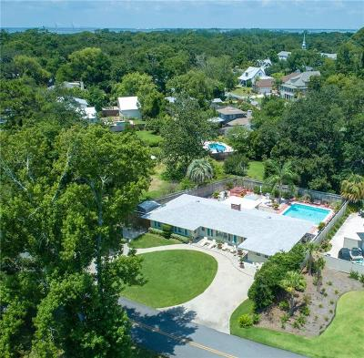 St. Simons Island Single Family Home For Sale: 541 Bartow Street