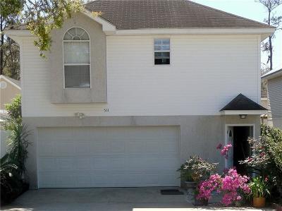 St. Simons Island Single Family Home For Sale: 511 Atlantic Drive
