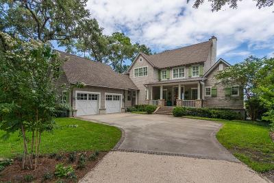 St. Simons Island Single Family Home Active Contingent: 54 Frederica Oaks Lane