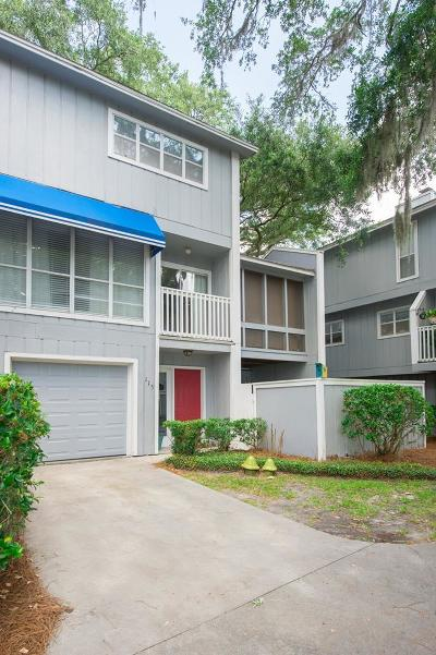 St. Simons Island Single Family Home For Sale: 115 Pelican Place