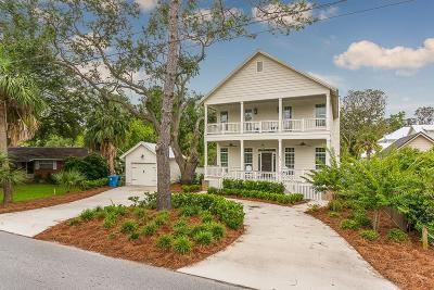 St. Simons Island Single Family Home For Sale: 515 Arnold Road