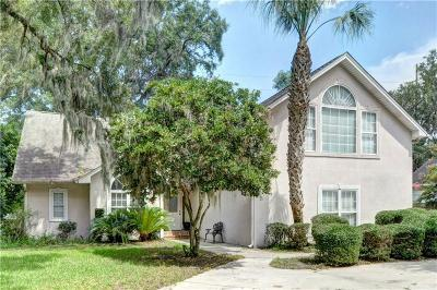 St. Simons Island Single Family Home For Sale: 5417 Frederica Road