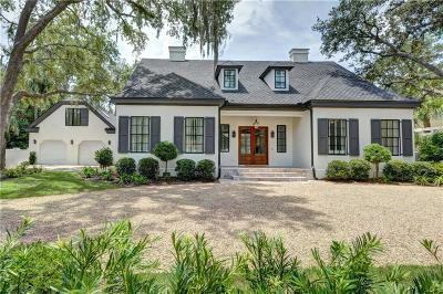 Sea Island Single Family Home For Sale: 215 W Twenty Third Street