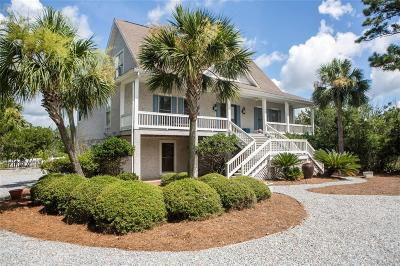 St. Simons Island Single Family Home For Sale: 2024 Sea Palms West Drive