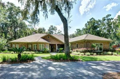 Darien Single Family Home For Sale: 1320 SW Plantation Drive
