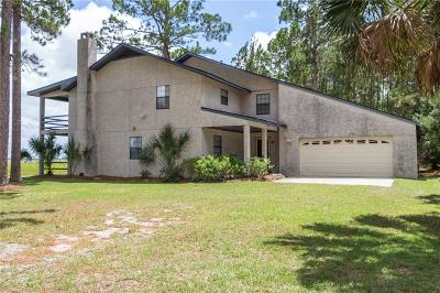 Midway Single Family Home For Sale: 544 Cattle Hammock Road