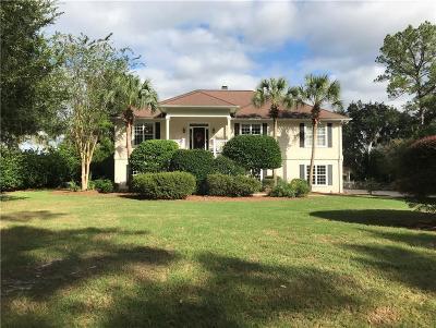Brunswick Single Family Home For Sale: 315 Oak Grove Island Drive