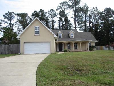 Brunswick Single Family Home For Sale: 128 Baywood Circle