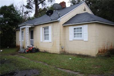 Brunswick Single Family Home For Sale: 3621 Habersham Street