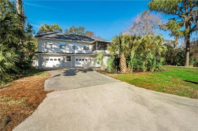 Brunswick Single Family Home For Sale: 202 Paradise Marsh Circle