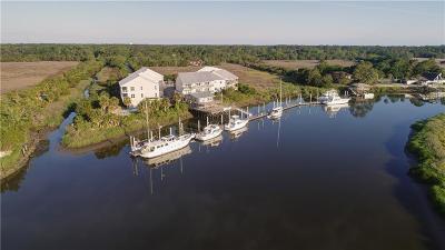 Brunswick Single Family Home For Sale: 10 Hidden Harbor Road