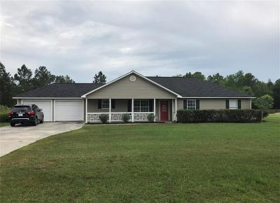 Brunswick Single Family Home For Sale: 461 Buck Swamp Rd Road