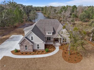 Brunswick Single Family Home For Sale: 98 Bartram Trail