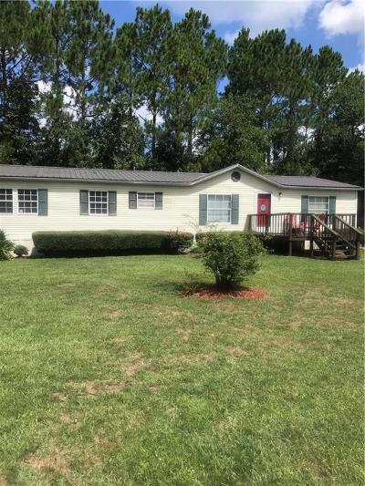 Darien Single Family Home For Sale: 1698 Black Road
