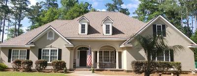 Shellman Bluff Single Family Home For Sale: 1163 Fair Hope Drive NE