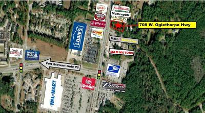 Commercial For Sale: 708 West Oglethorpe Highway