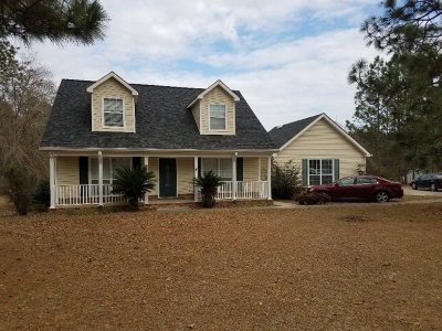 Glennville Single Family Home For Sale: 202 Lakeview Drive